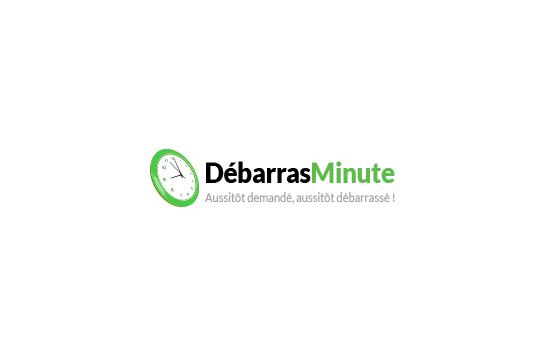 Logo de Débarras Minute avant la refonte de la charte graphique