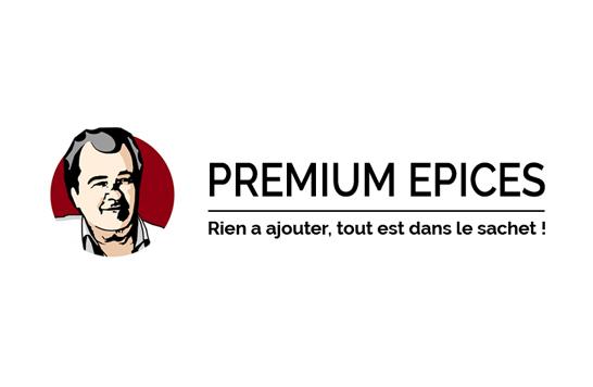 Logo premium épices après refonte
