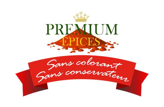 Logo premium épices avant refonte