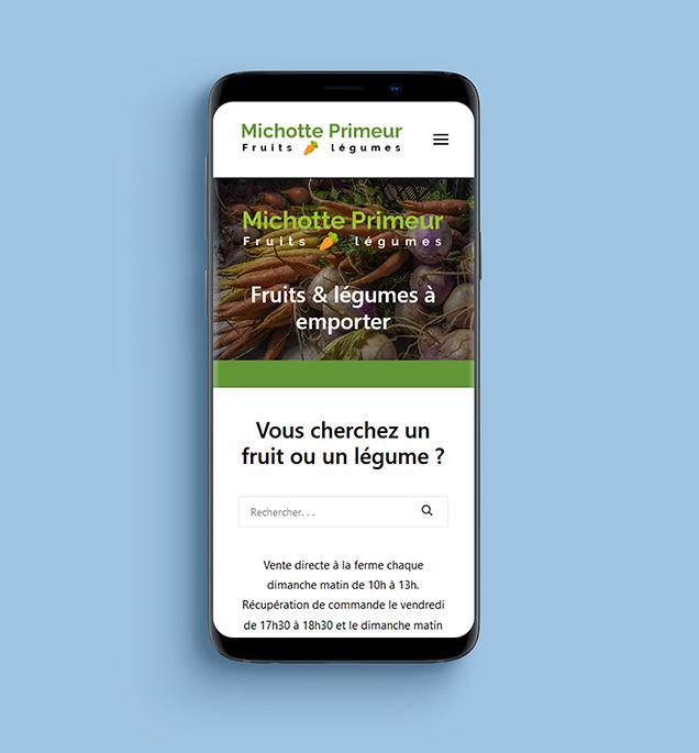 Refonte du site internet Franck Michotte version responsive mobile
