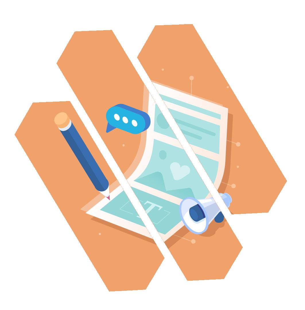 Illustration du webdesign